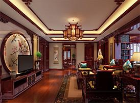 富有中式情怀的客厅复古风格