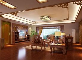 传统大宅装修的中式意境