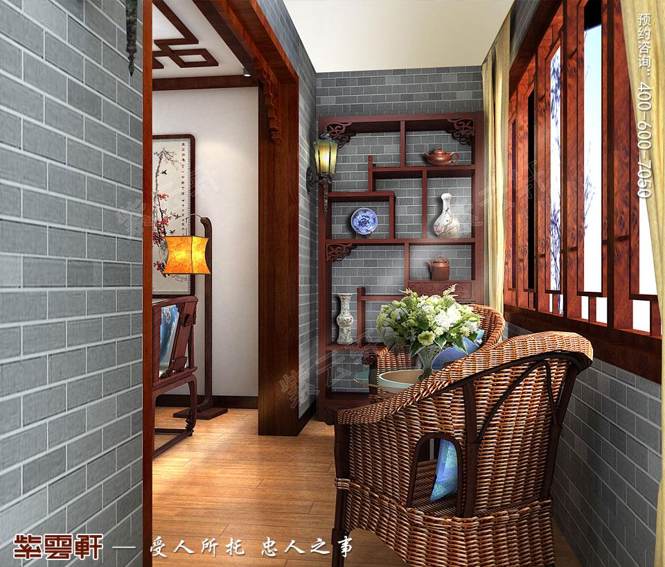 传统家装装饰阳台
