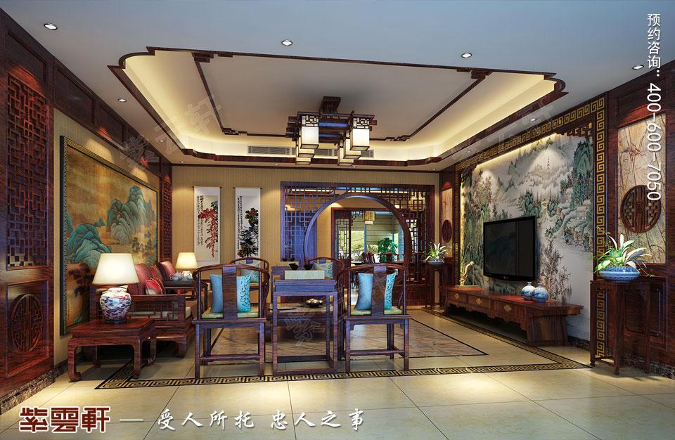 古典庄园设计客厅