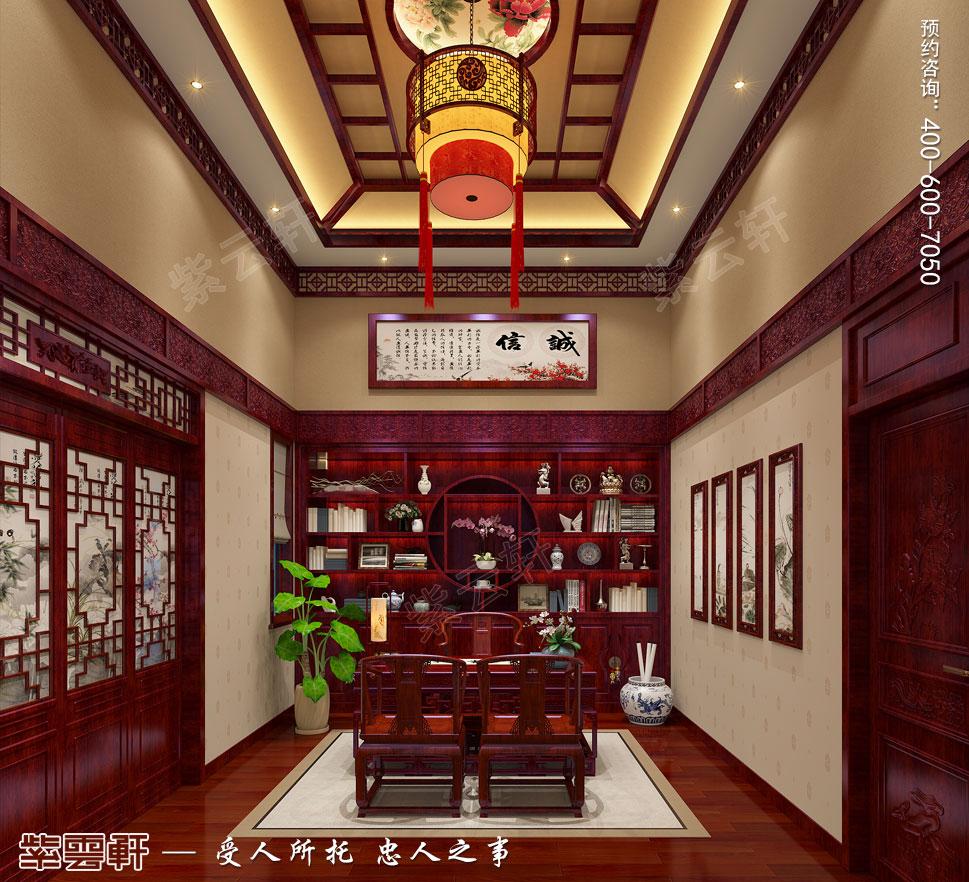 古典洋房装饰书房
