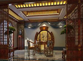 清幽雅致的古典茶室装修