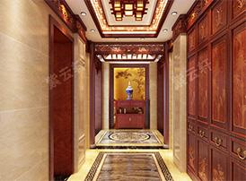 栩栩如生的传统门厅设计图