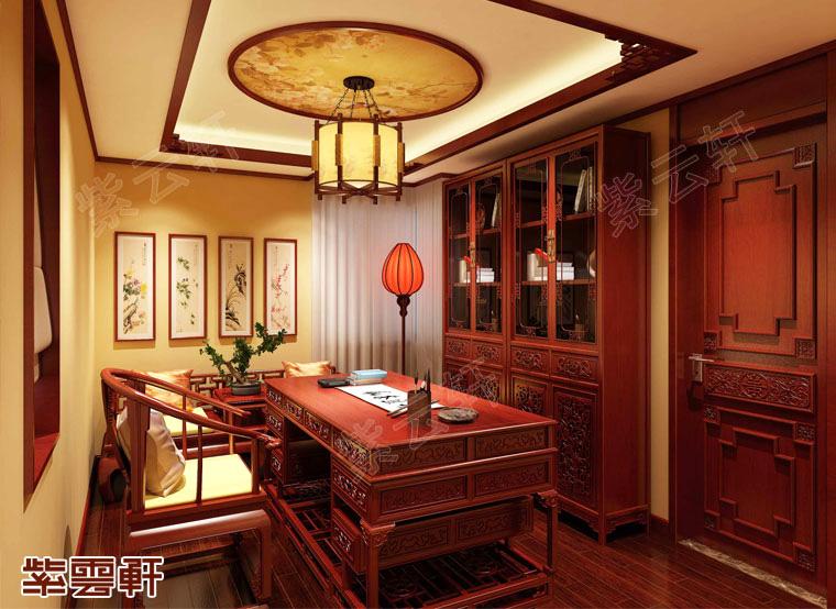 中式书房案例中内蕴的传统文化