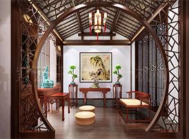 玄妙高雅的佛堂中式装修