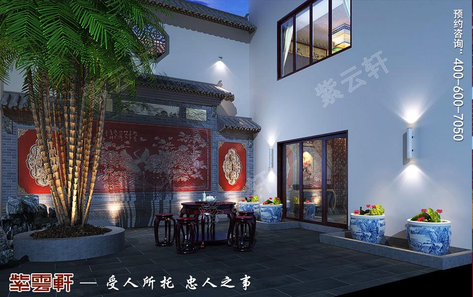 古典中式庭院设计图片