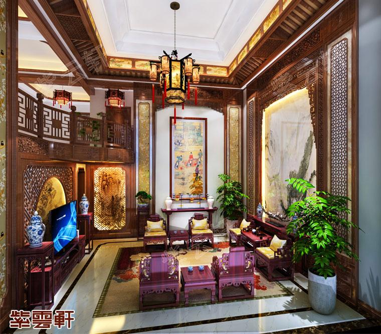 客厅古典装修