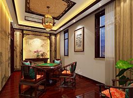 休闲室古典装潢中的闲雅之风