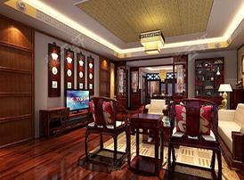 高洁清雅的复古客厅风格