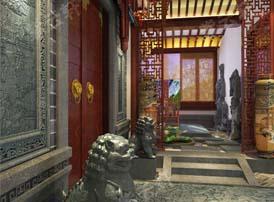 中式庭院装修的风雅之景