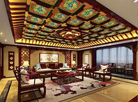 中式风格客厅深厚的文化内涵