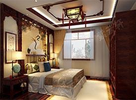 中式风格老人房的审美
