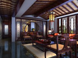 清新淡雅的中式风格客厅