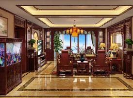 家装中式装修彰显着古典艺术的精髓