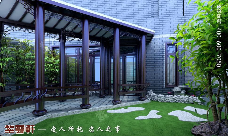 中式庭院装修图片