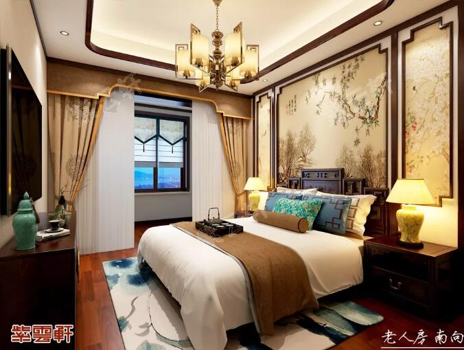 中式装修卧室