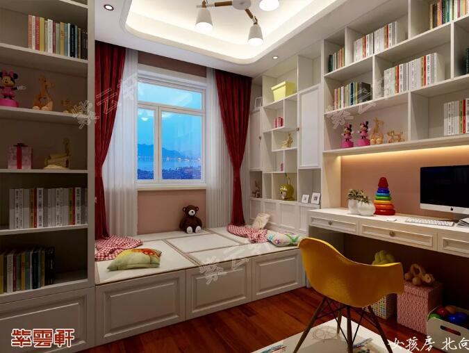 中式装修次卧女儿房