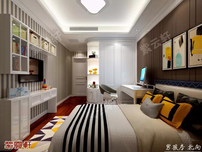 中式装修 男孩房