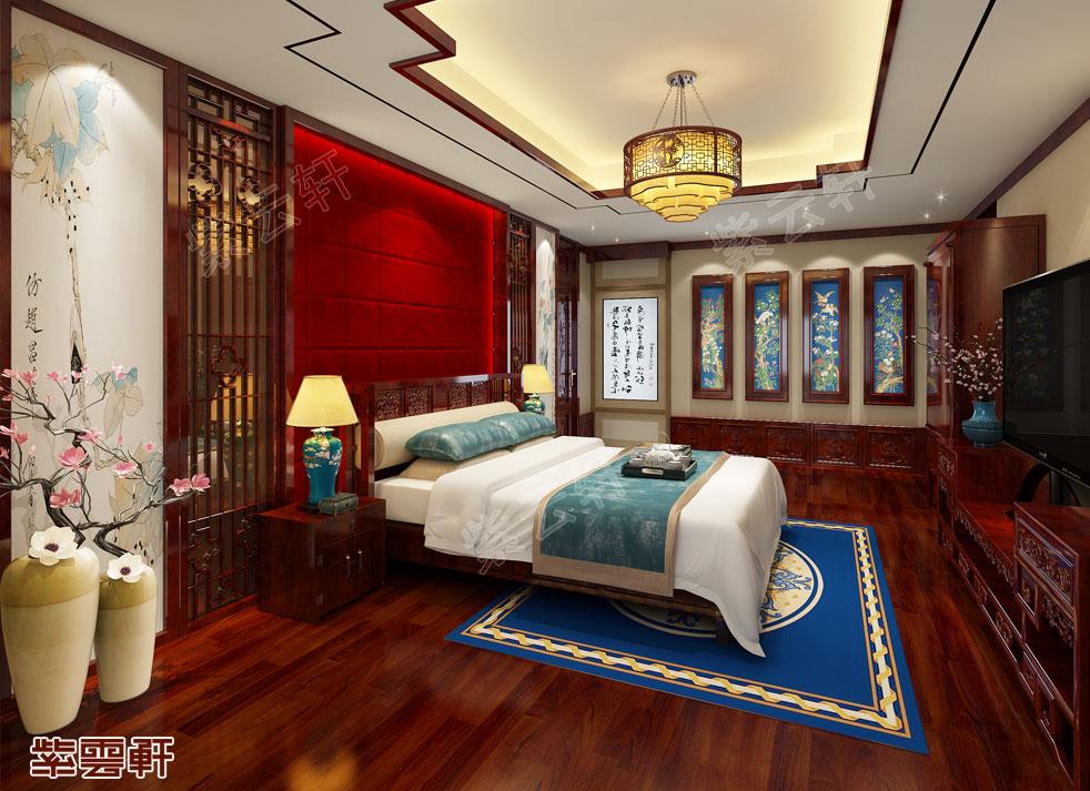 中式装修 卧室