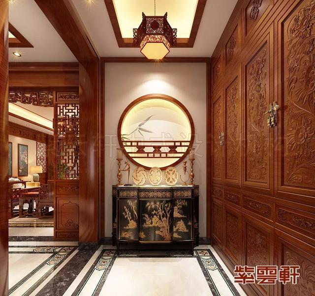 玄关中式装修
