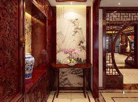 中式家居装修中玄关风水知多少?