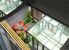 中式装修中阳台的风水常识