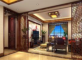 从仿古客厅设计图看客厅的装修风水