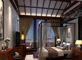 中式卧室装修中的风水禁忌