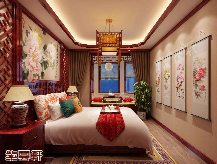 卧室传统装饰