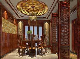 传统餐厅案例中的装修风水知识