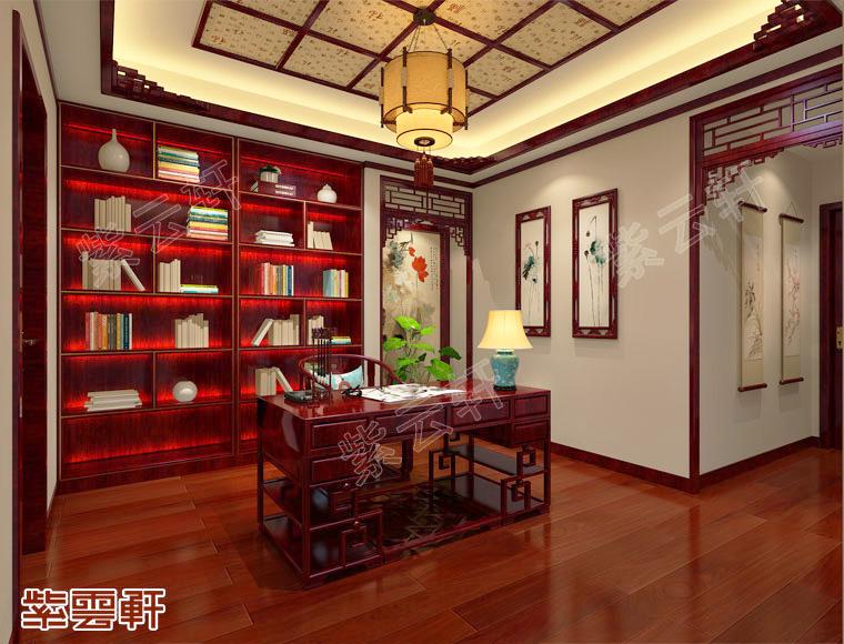 古典书房图片