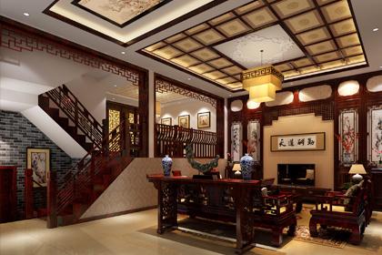 河北保定复式现代中式风格装修效果图 东方古典韵味的中式空间
