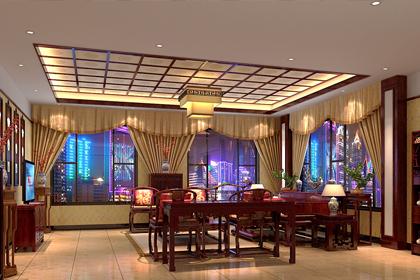 北京钓鱼台别墅豪宅古典中式装修案例 大气华丽,典雅高贵