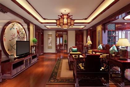 河南郑州复式简约中式装修效果图 传达传统中式文化的风骨与精髓