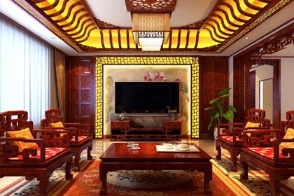 黑龙江哈尔滨复式洋房中式装修图片 让家兼具高雅与浪漫