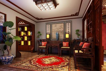 江苏盐城古典中式风格装修图片 喧闹城市中的古雅居所