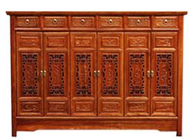 实木雕花衣柜-鞋柜-储物柜-书柜