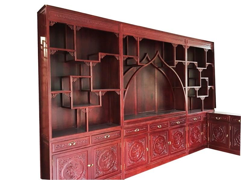 定制中式壁柜