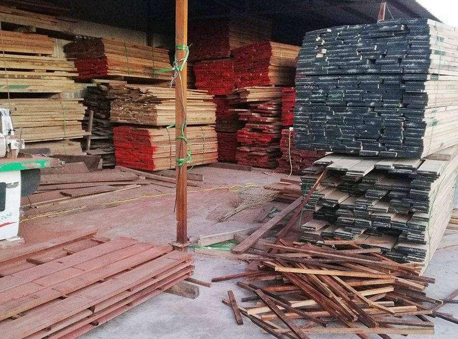 库房-烘干木材存放区