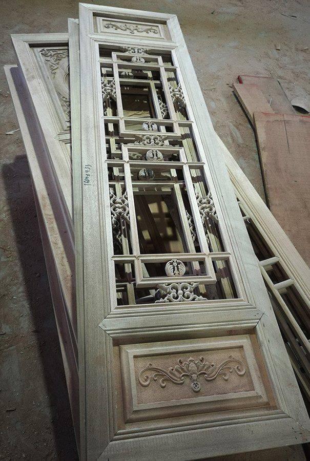 格栅窗-中国元素